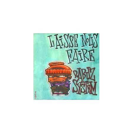 """ALBUM CASSETTE D.ABUZ SYSTEM """" LAISSE NOUS FAIRE """""""