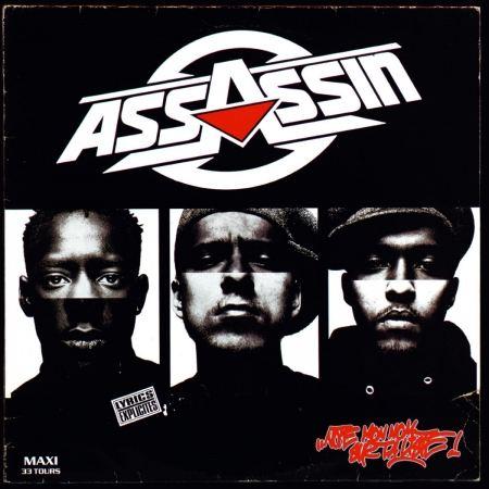 """ALBUM CD ASSASSIN """" NOTE MON NOM SUR TA LISTE ! """""""