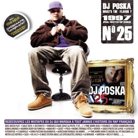 "Album Cd ""Dj Poska n°25"" - what's the flavor"