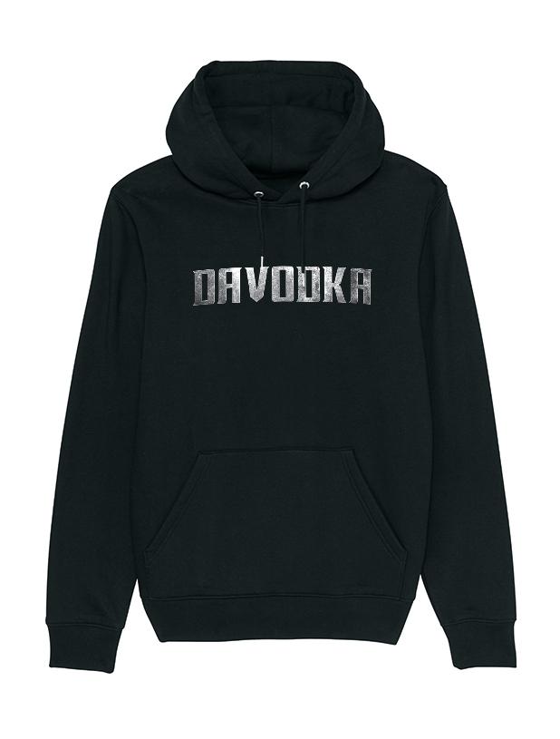Sweat Capuche Davodka Logo Metal de davodka sur Scredboutique.com