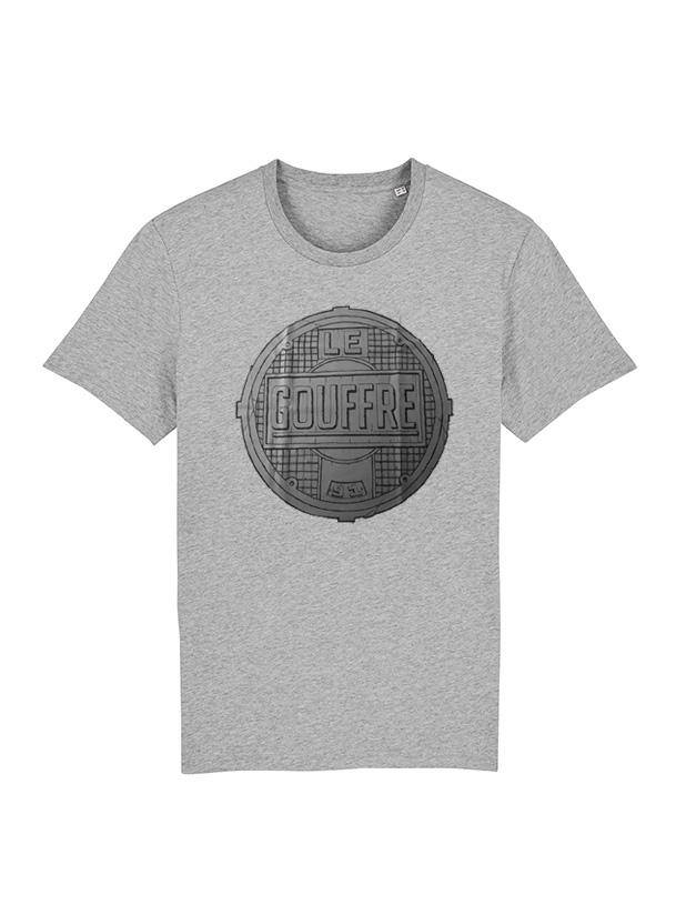 Tshirt Le gouffre Gris de le gouffre sur Scredboutique.com