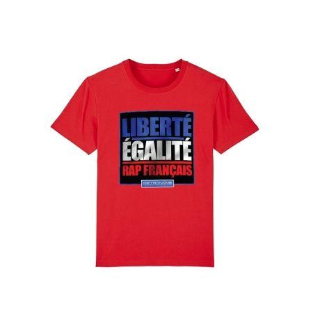 Tshirt Metronome Liberté Egalité Rap Français