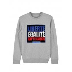 Sweat Metronome Liberté Egalité Rap Français de amadeus sur Scredboutique.com