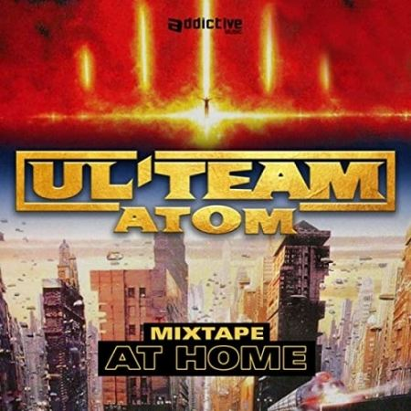 "Album Cd ""Ul'team atom"" - at home"