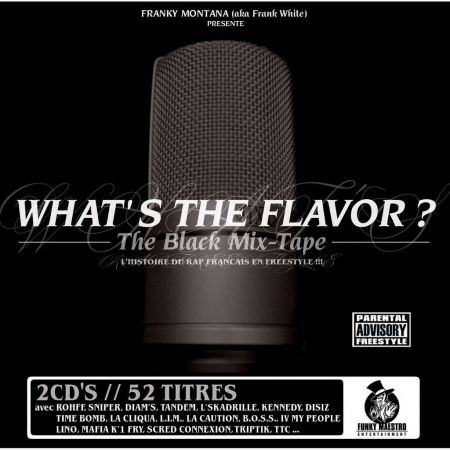 Double cd - What's the flavor ? - the black Mix-tape