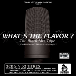 Double cd - What's the flavor ? - the black Mix-tape de  sur Scredboutique.com
