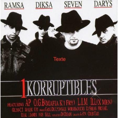 Album Cd 1korruptibles - Ramsa Diska Seven Darys