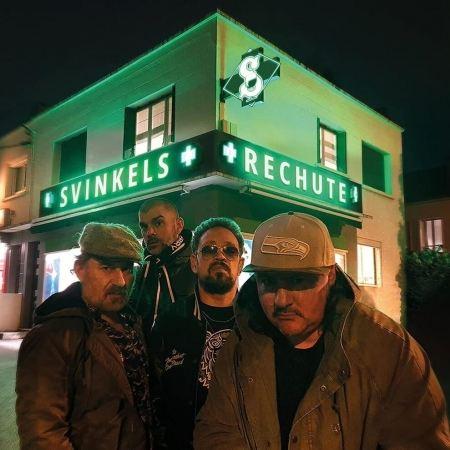 Album vinyle Svinkels - rechute