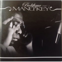 "Album cd Manu Key ""Prolifique part 2"" + DVD bonus+ concert live de manu key sur Scredboutique.com"