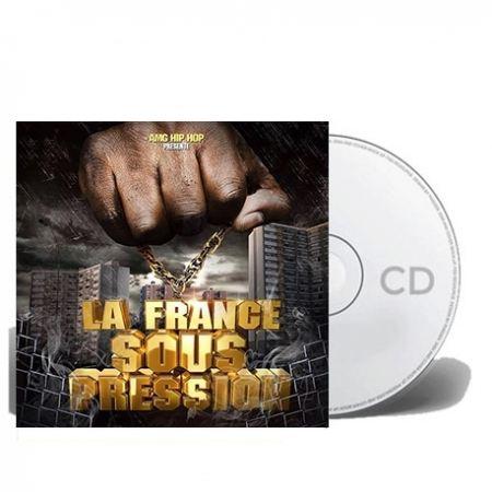 """Album Cd """"AMG HIP HOP"""" - La France sous pression"""