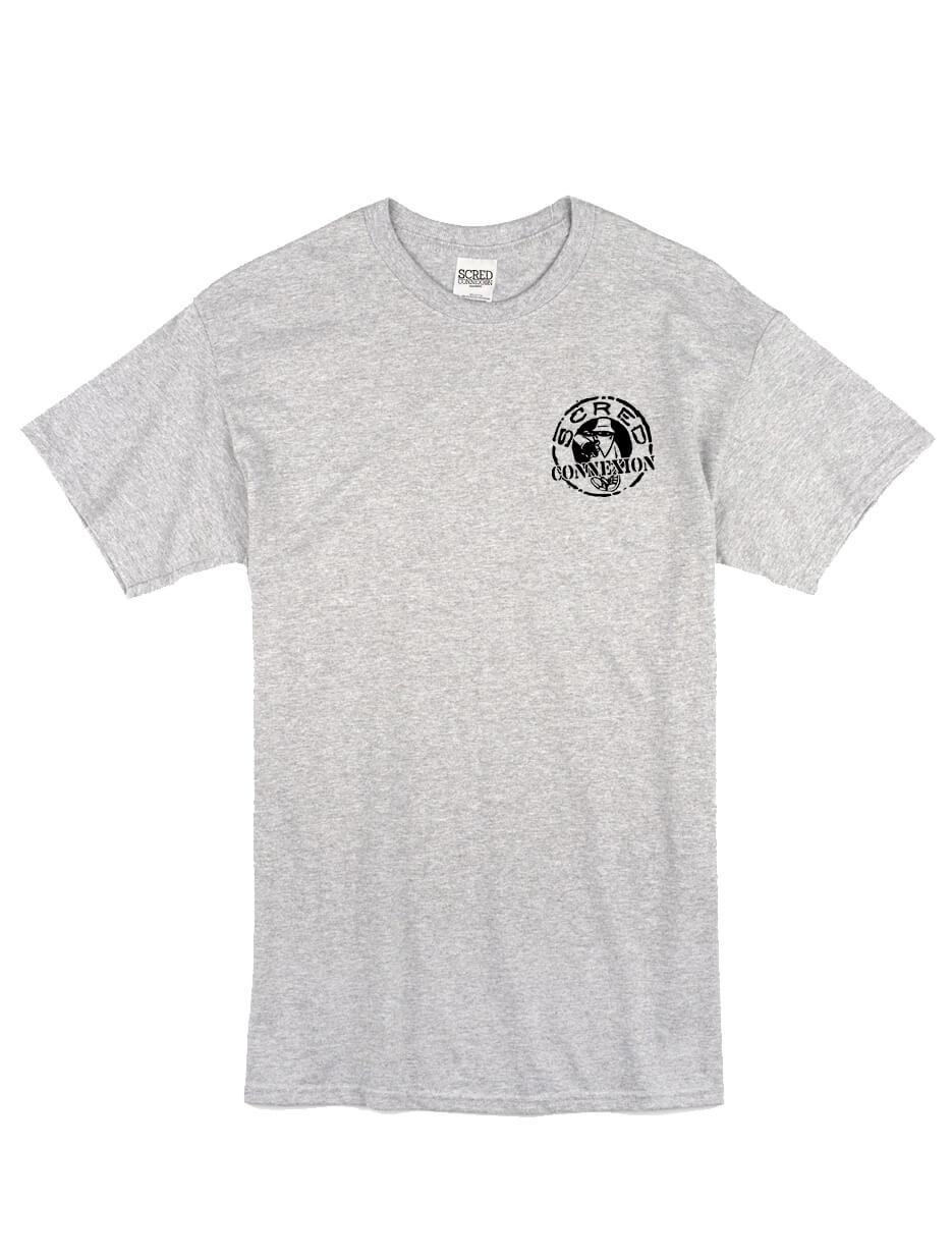 "tee-shirt  ""petit classico"" gris de scred connexion sur Scredboutique.com"