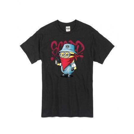 "tee-shirt ""Mini Scred"" noir"