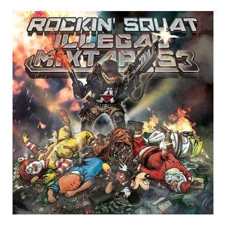 """Album Cd """"Assassin Rockin'squat """" - illegal mixtapes 3"""