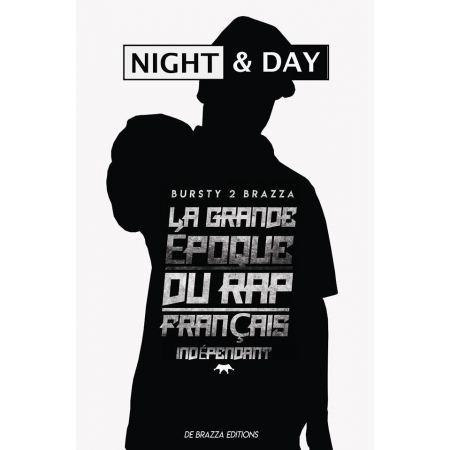 """Livre  """" NIGHT & DAY, la grande époque du rap Français indépendant """""""