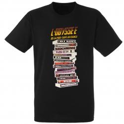 "tee-shirt ""l'odyssée de la mixtape"" noir de brazza sur Scredboutique.com"