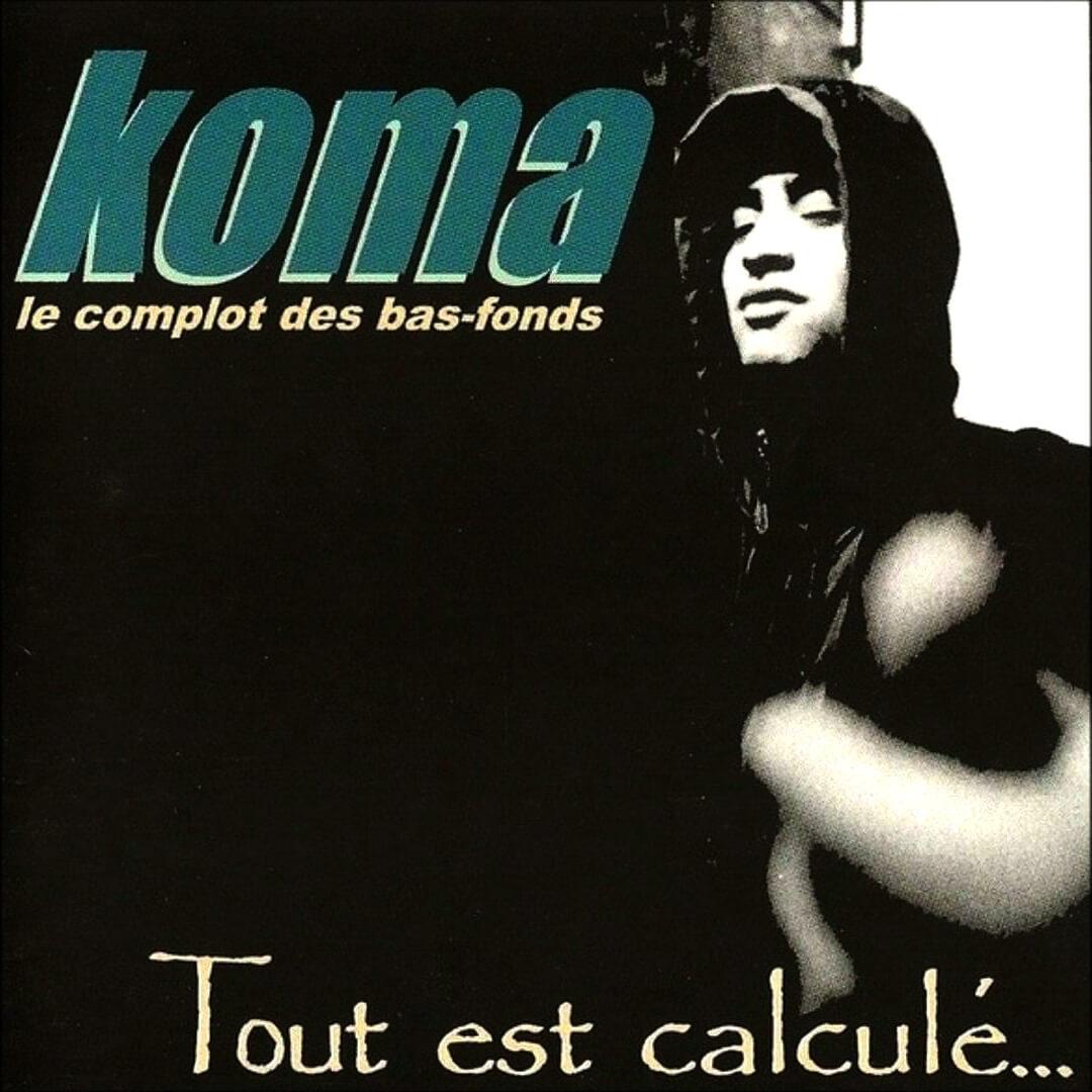 Vinyle - Réedition Collector Koma - Tout est Calculé - de ahmed koma sur Scredboutique.com