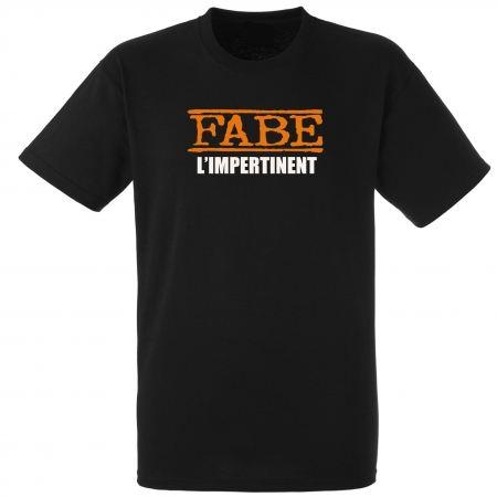 """tee-shirt """"l'impertinent"""" noir"""