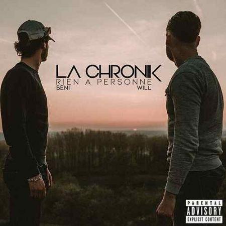 """Album Cd """"La Chronik - Rien a Personne"""""""