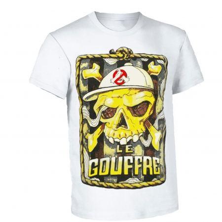 """tee shirt le gouffre """"pirate"""" blanc"""