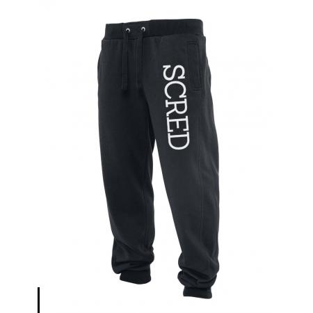 Pantalon de jogging noir Scred Line up