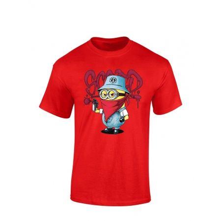 """tee-shirt """"Mini Scred"""" Rouge"""