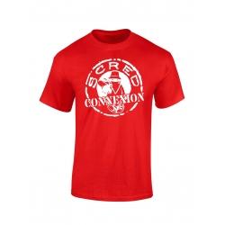"""tee-shirt enfant """"classico """" rouge et blanc de scred connexion sur Scredboutique.com"""