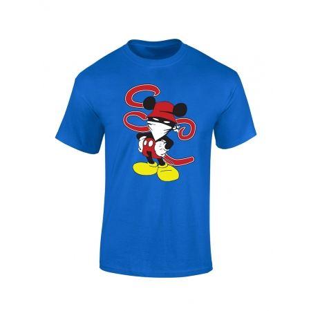T Shirt bleu enfant Walt discrey