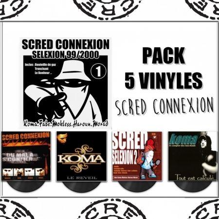 "Pack ""Vinyles Scred Connexion"""