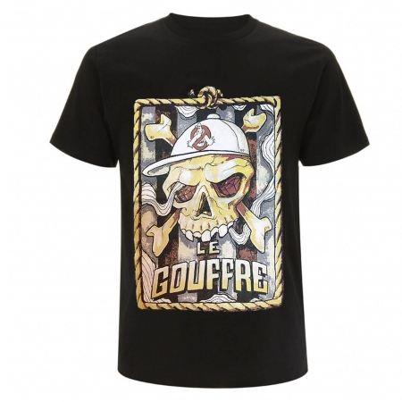 "tee-shirt le gouffre""pirate"" noir"