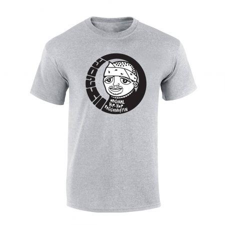"""tee-shirt """"Yoshi"""" gris"""