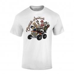 """tee-shirt """"Yoshi Caresse Auditive"""" Blanc de yoshi sur Scredboutique.com"""