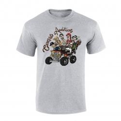 """tee-shirt """"Yoshi Caresse Auditive"""" gris de yoshi sur Scredboutique.com"""