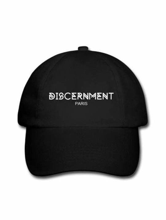 """Casquette """"Discernment"""" Noir de discernment sur Scredboutique.com"""
