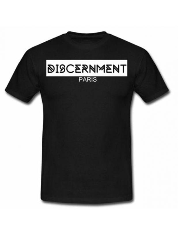 """Tee-shirt """"Discernment"""" Noir"""