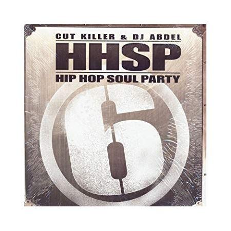 """Album Vinyl """"Hip Hop Soul Party """"Cut Killer x DJ Abdel"""