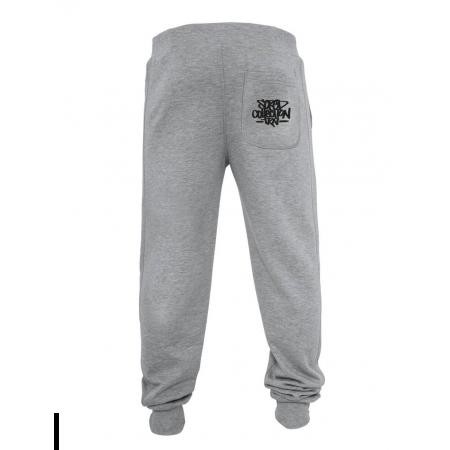 Pantalon de jogging gris Coup de crayon