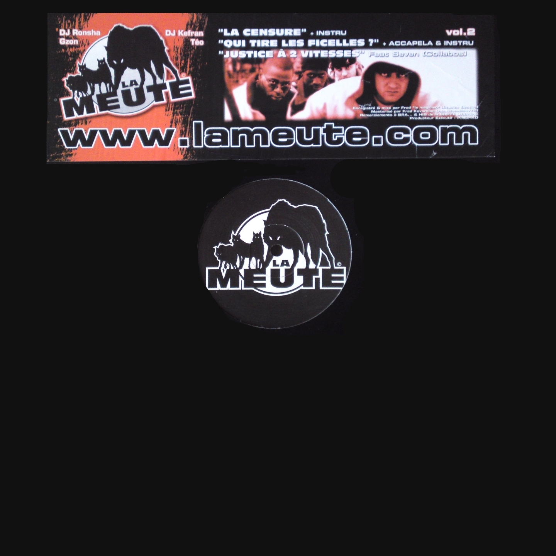 """Maxi vinyle La meute """" la censure """" de la meute sur Scredboutique.com"""