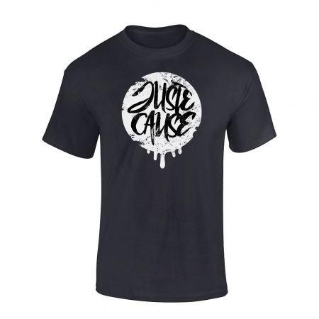T-Shirt Juste cause Noir Blanc