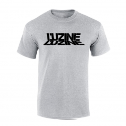 T-Shirt L'uzine gris logo noir de l'uzine sur Scredboutique.com