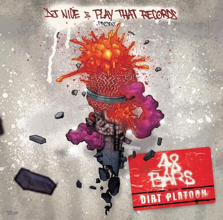 """Album vinyle Dj Nice """" A8 Bars with Dirt Platoon de dj nice sur Scredboutique.com"""