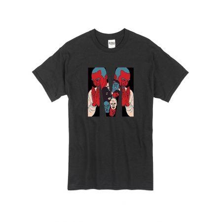 T Shirt Noir by Sims - Dj MEHDI