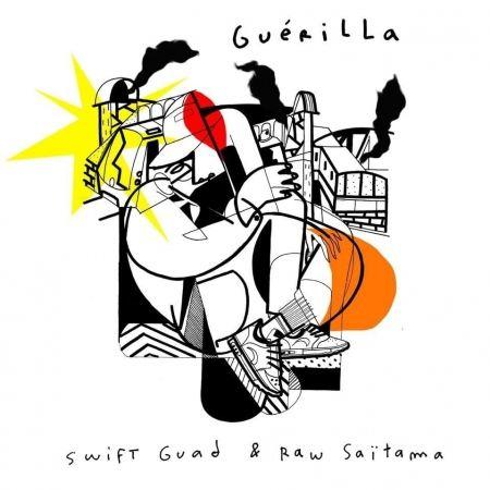 "Album Cd ""Swift Guad & Raw Saitama"" - guerilla"