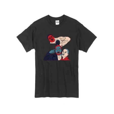 T Shirt Noir by Sims - ZOXEA