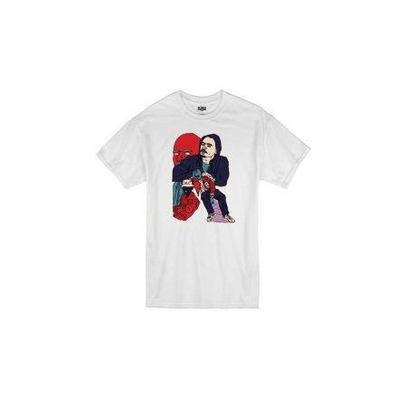 T Shirt Blanc by Sims - ROCÉ