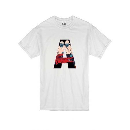 T Shirt Blanc by Sims - ARSENIK