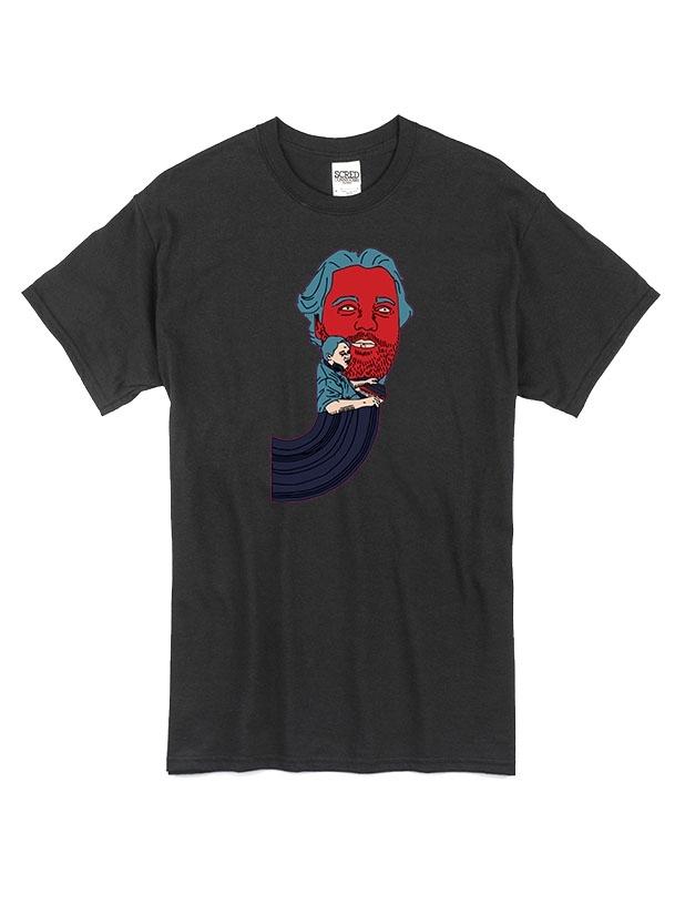 T Shirt Noir by Sims - JIMMY JAY de jimmy jay sur Scredboutique.com