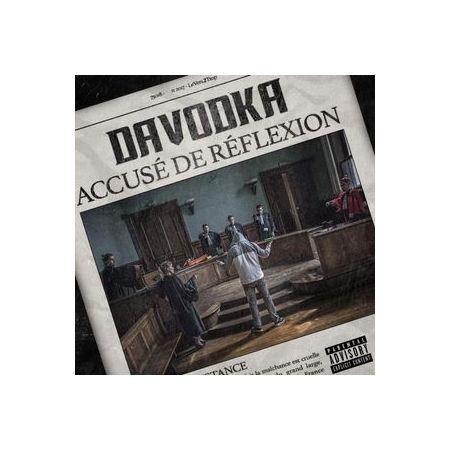 """Album Cd """"Davodka"""" - accusé de reflexion"""