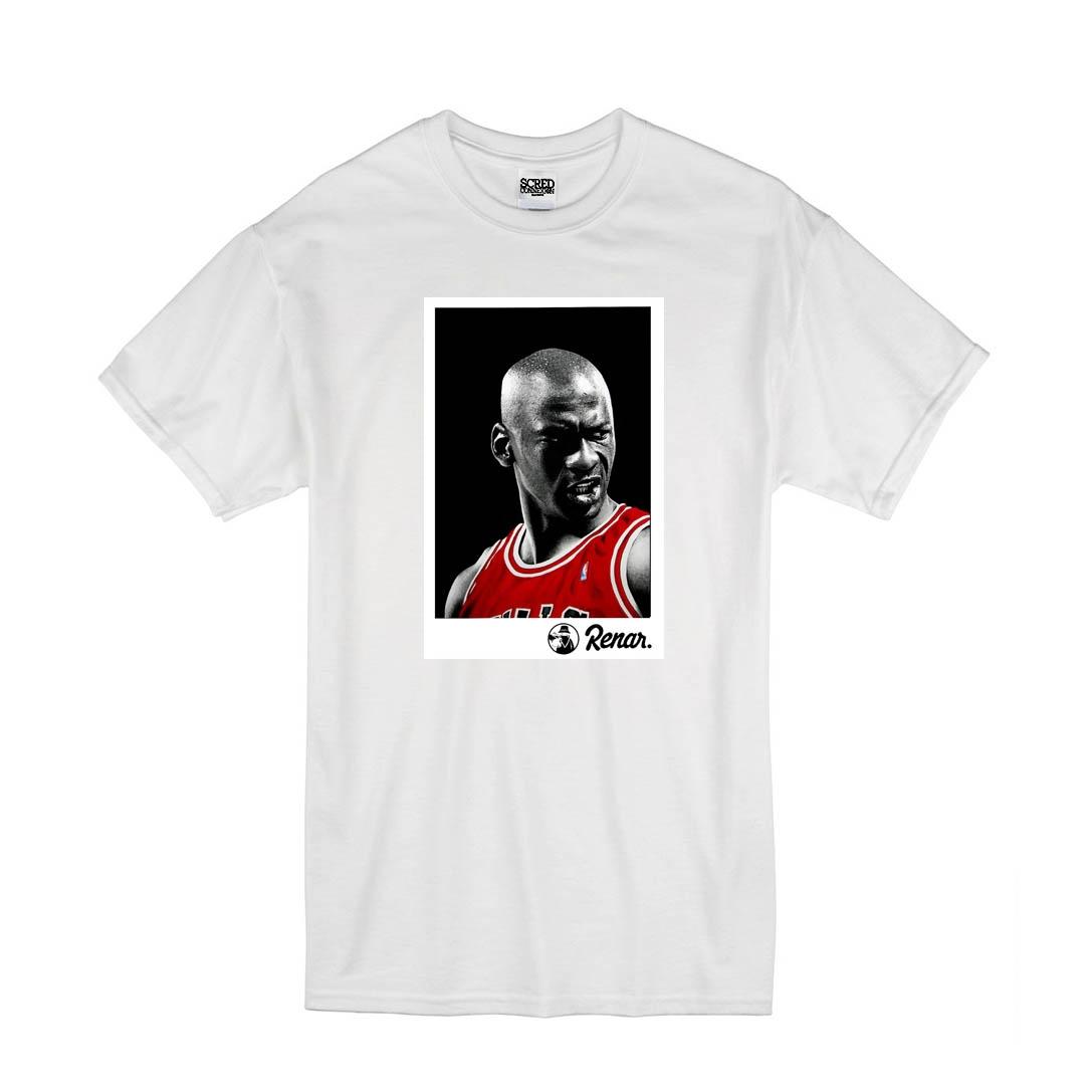 T Shirt Blanc Renar - Jordan de renar sur Scredboutique.com