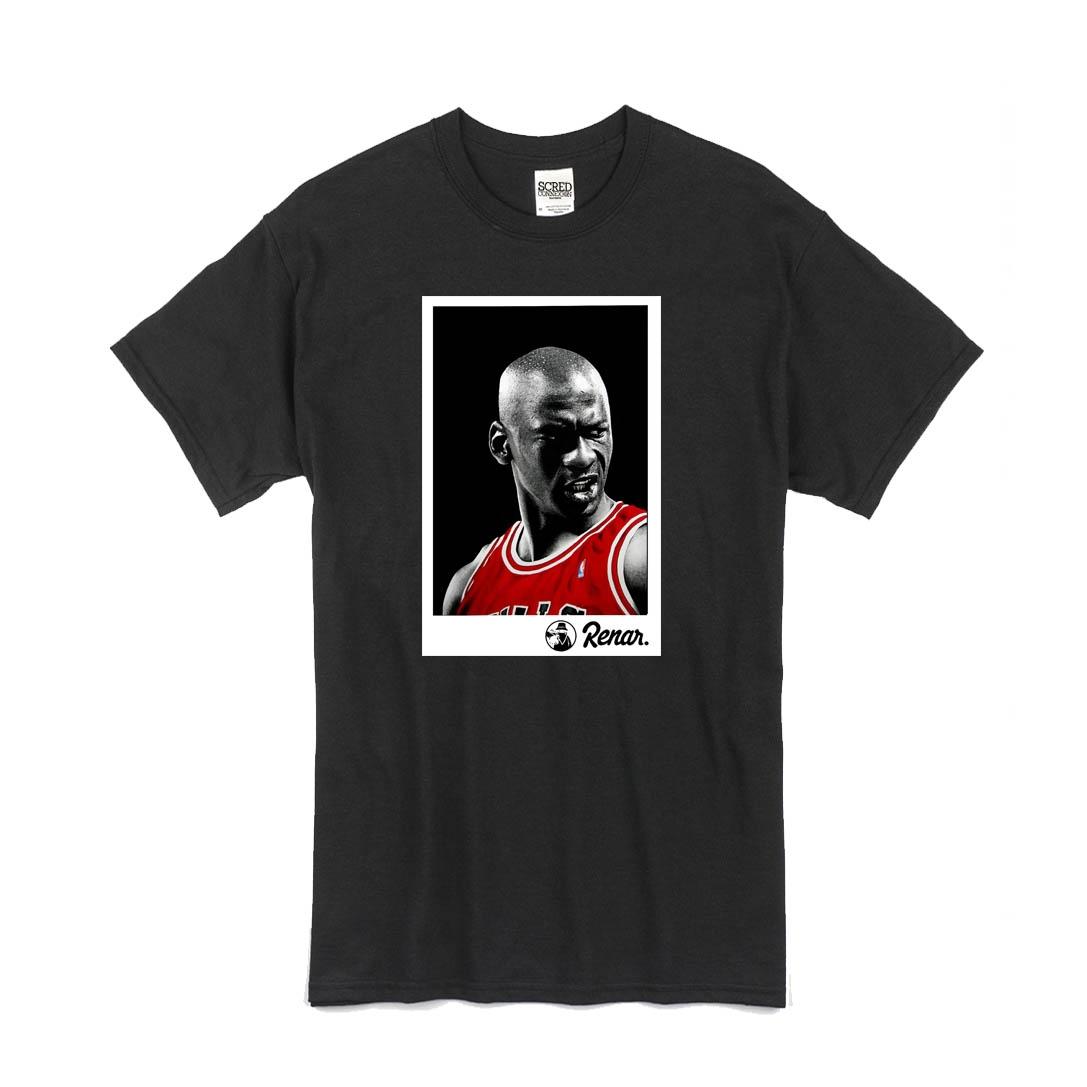 T Shirt Noir Renar - Jordan de renar sur Scredboutique.com