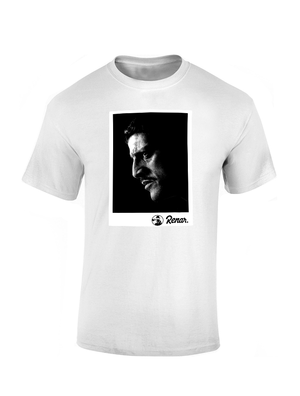 T shirt Renar Said Taghmaoui blanc de renar sur Scredboutique.com